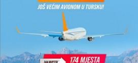 TURISTI IZABRALI TURSKU: KONTIKI POVEĆAO KAPACITET PRVOG LETA IZ BANJALUKE